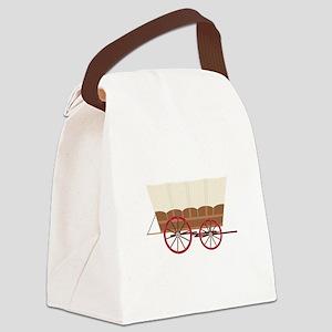 Prairie Wagon Canvas Lunch Bag