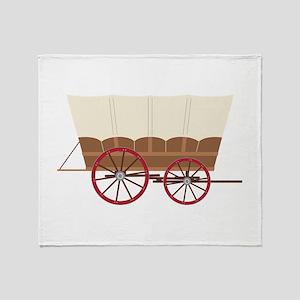 Prairie Wagon Throw Blanket
