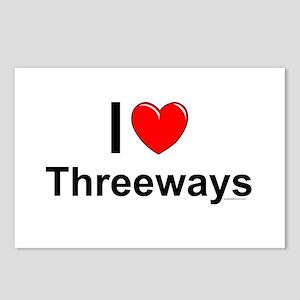 Threeways Postcards (Package of 8)