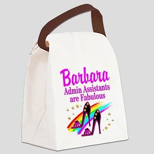 CUSTOM ADMIN ASST Canvas Lunch Bag