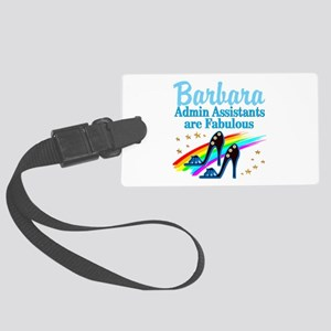 CUSTOM ADMIN ASST Large Luggage Tag
