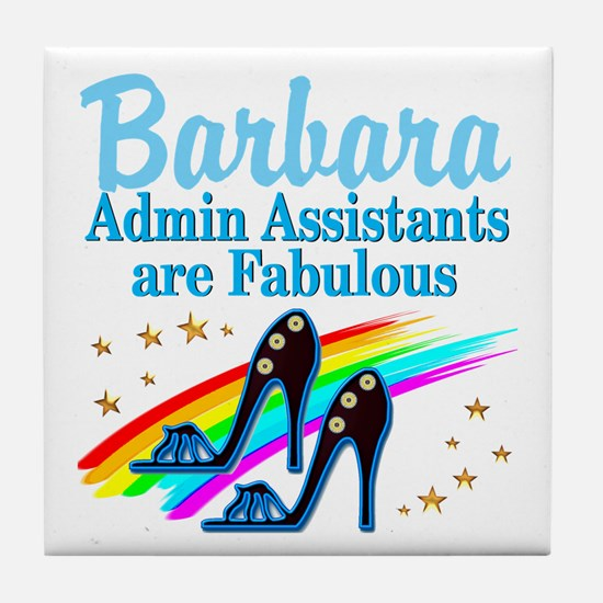 CUSTOM ADMIN ASST Tile Coaster