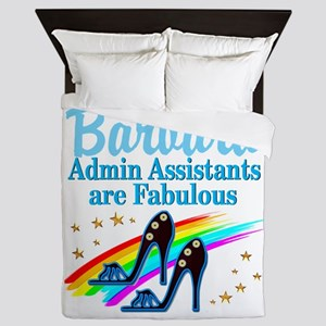 CUSTOM ADMIN ASST Queen Duvet