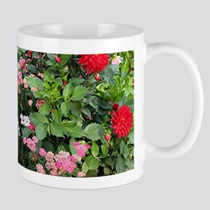 Flowers in bloom, Anchorage, Alaska, USA 3 Mugs