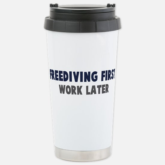 Freediving First Mugs