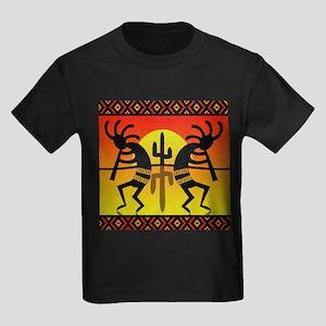 Southwest Design Dancing Kokopelli T-Shirt