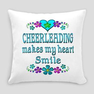 Cheerleading Smiles Everyday Pillow