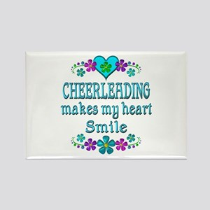 Cheerleading Smiles Rectangle Magnet