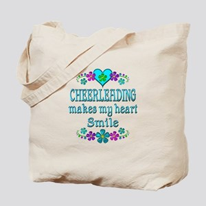 Cheerleading Smiles Tote Bag