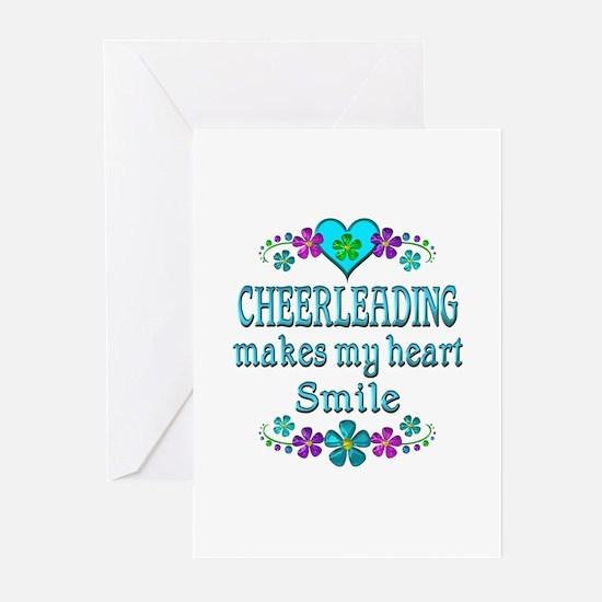 Cheerleading Smiles Greeting Cards (Pk of 20)