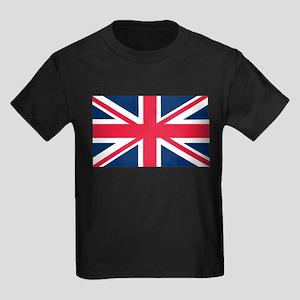 British Flag Kids Dark T-Shirt