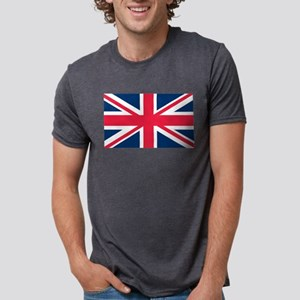 British Flag Mens Tri-blend T-Shirt