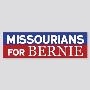 Missourians for Bernie Bumper Sticker