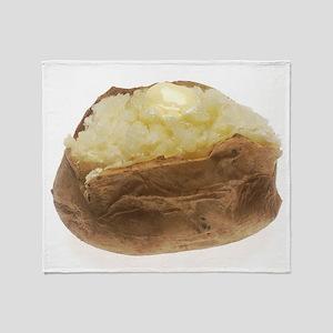 Baked Potato Throw Blanket