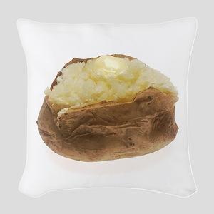 Baked Potato Woven Throw Pillow