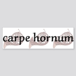 Carpe Hornum Bumper Sticker