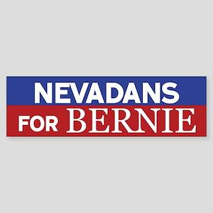 Nevadans for Bernie Bumper Sticker