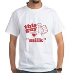 Personalize This Guy Hearts T-Shirt