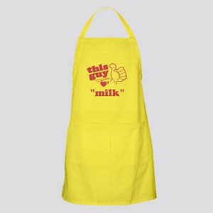 Personalize This Guy Hearts Apron