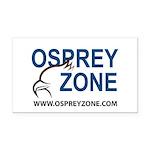 Osprey Zone Rectangle Car Magnet