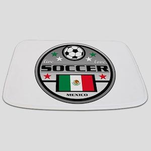 Live Love Soccer Mexico Bathmat