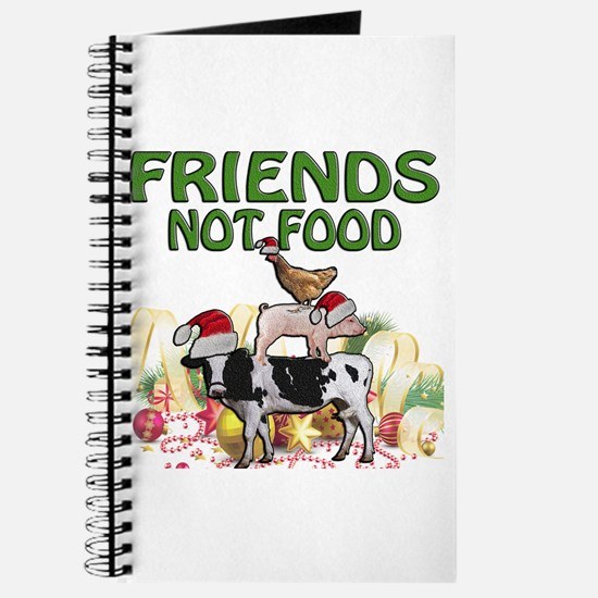 CHRISTMAS FRIENDS NOT FOOD Journal