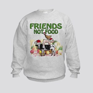 CHRISTMAS FRIENDS NOT FOOD Sweatshirt