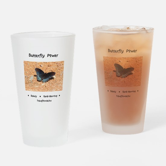 Butterfly Power Gifts Drinking Glass