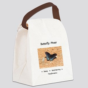 Butterfly Power Gifts Canvas Lunch Bag