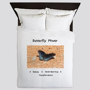 Butterfly Power Gifts Queen Duvet