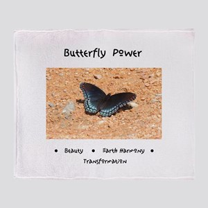 Butterfly Power Gifts Throw Blanket