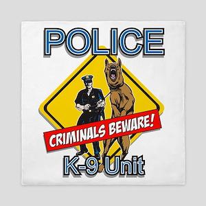 Criminals Beware Queen Duvet