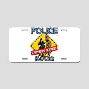 Criminals Beware Aluminum License Plate