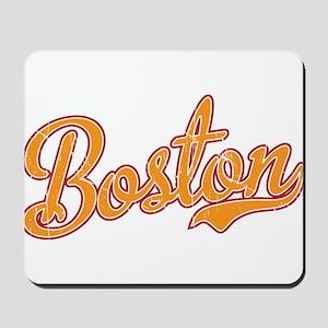 Boston Script Gold VINTAGE Mousepad
