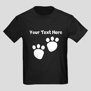 Custom Pawprints Silhouette T-Shirt