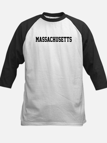 Massachusetts Jersey Font Kids Baseball Jersey