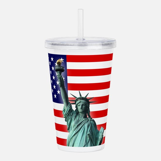 Unique New years eve Acrylic Double-wall Tumbler
