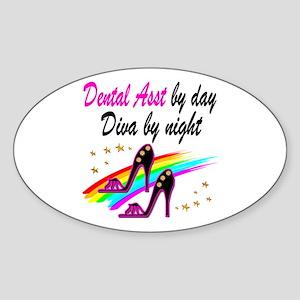 CHIC DENTAL ASST Sticker (Oval)