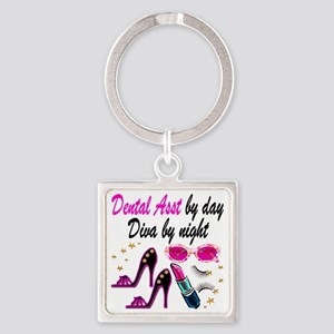 CHIC DENTAL ASST Square Keychain