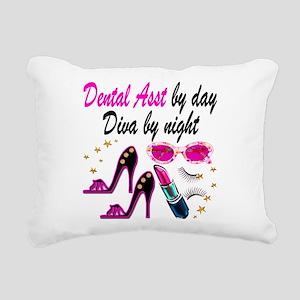 CHIC DENTAL ASST Rectangular Canvas Pillow