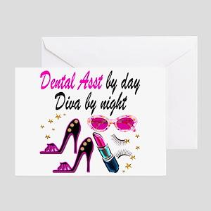 CHIC DENTAL ASST Greeting Card
