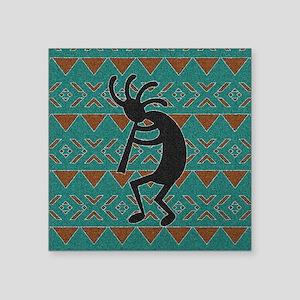 Kokopelli Turquoise Southwest Design Sticker