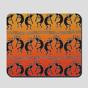 Southwest Kokopelli Pattern Mousepad