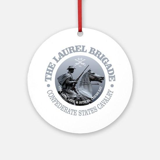 The Laurel Brigade Round Ornament