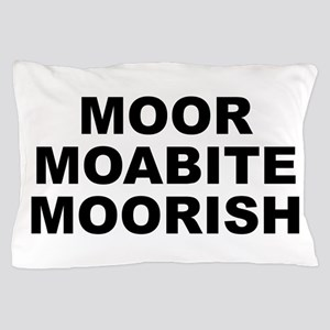 Moor Moabite Moorish Pillow Case