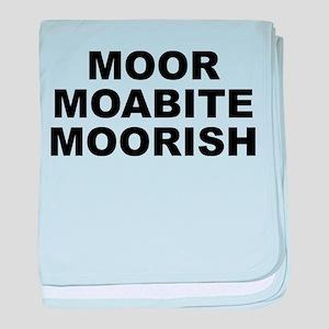 Moor Moabite Moorish Baby Blanket