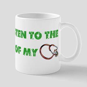 Stethoscope Music Mugs