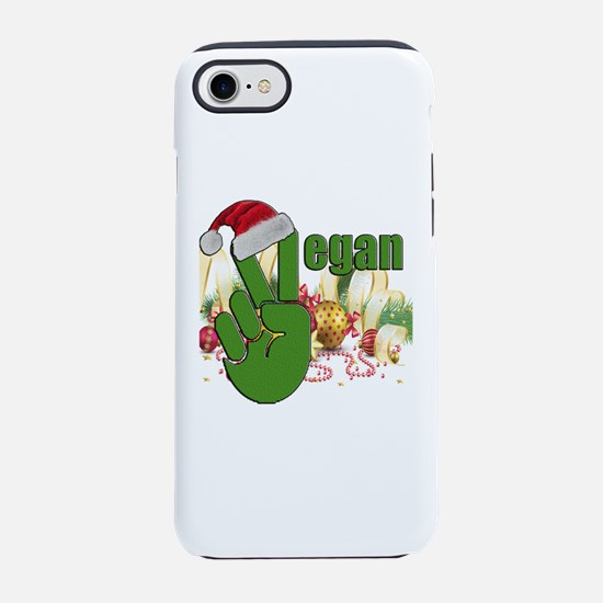 VEGAN CHRISTMAS VICTORY iPhone 8/7 Tough Case