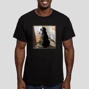 Ajax Watches the World Men's Fitted T-Shirt (dark)