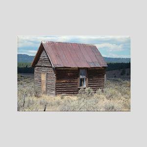 Vintage Barn Rectangle Magnet